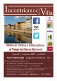 CONFERENZA SUI SOCIAL MEDIA AL ROYAL VICTORIA HOTEL A PISA